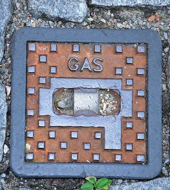 Gas Schieber